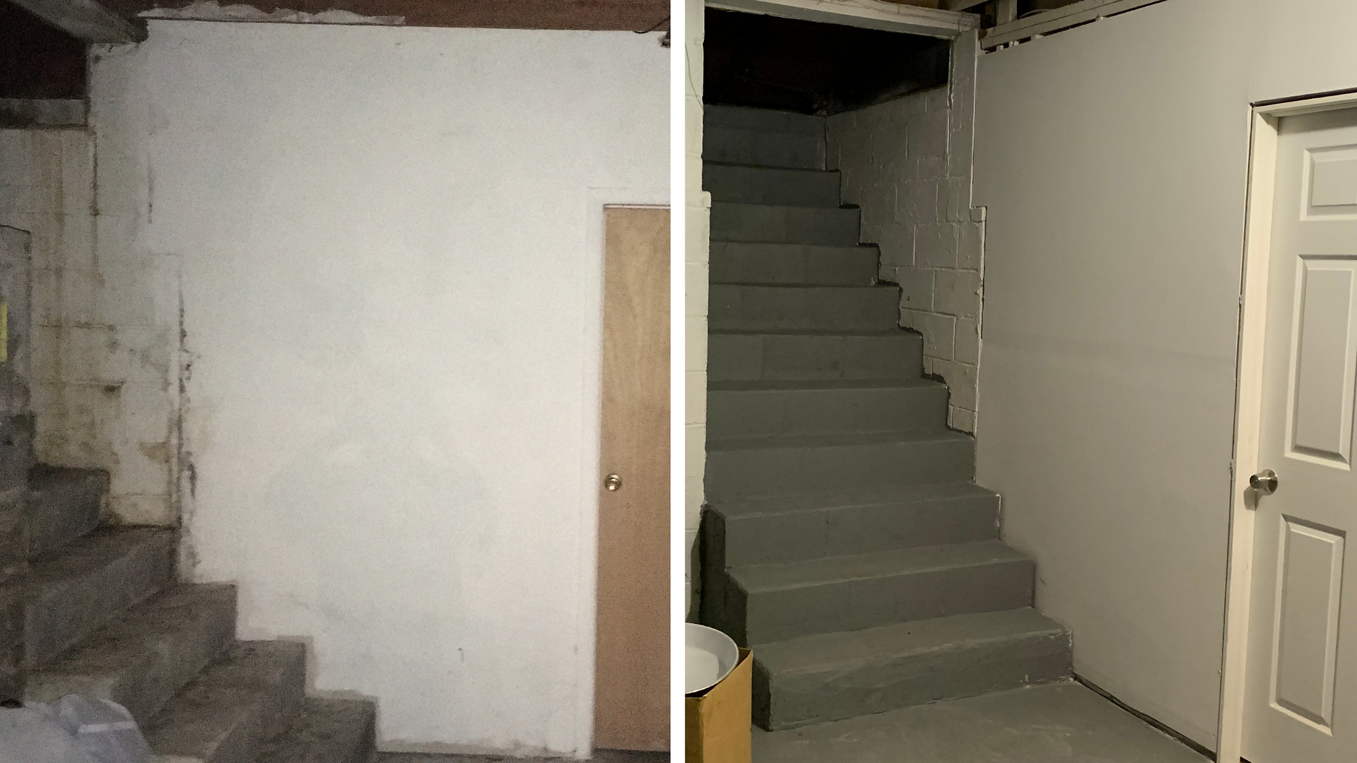 Basement in Monroe Gets a Redo After Mold Discovery