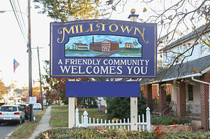 Milltown, NJ welcome sign