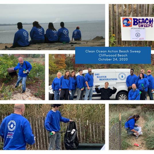 Beach Sweep October 24, 2020