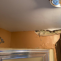 Water Damage Through the Ceiling
