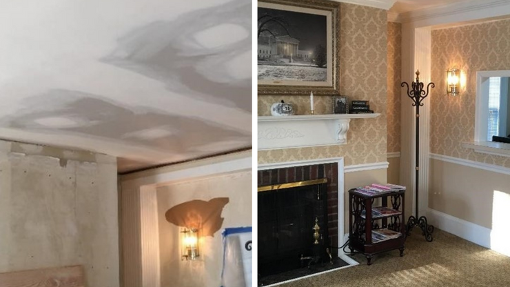Victorian Home Restored After Water Damage
