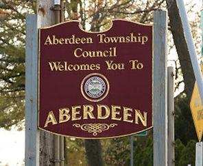 Aberdeen, NJ welcome sign