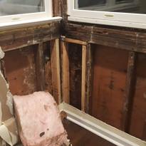 Water Infiltration Under Window