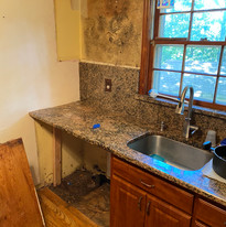 Leak Behind Kitchen Cabinets Discovered