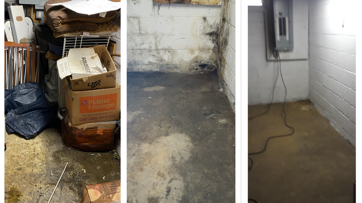 Hot Water Heater Leak Reveals Mold