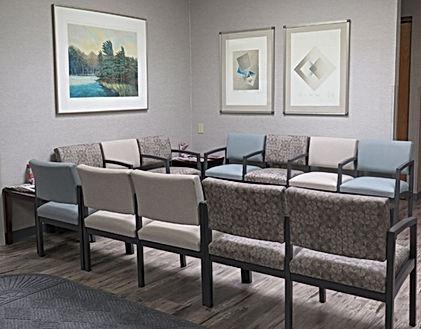 Healthcare - Lesro waiting area seating