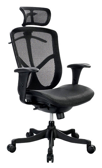 Eurotech Hi-back Fuzion Mesh Office Chair