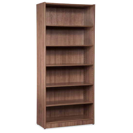 OS 6 Shelf Bookcase