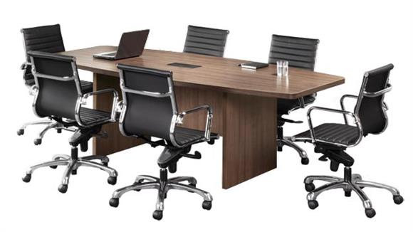 6' Boat Shape Conference Table