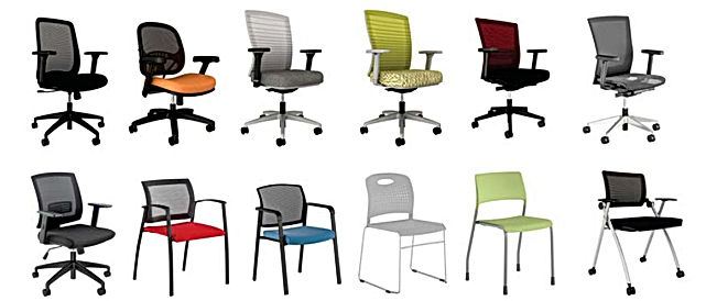 AIS Seating, Desk Chairs, Seating Options