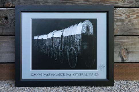 2004 Wagon Days Framed Poster