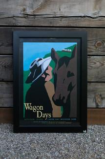 2006 Wagon Days Framed Poster