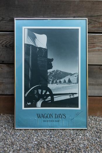 1991 Wagon Days Framed Poster