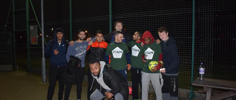 IAM Charity Football Tournament Runners- Up!