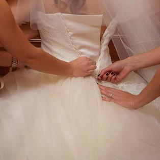 Wedding Gown Alternation and preparation Clayton CA