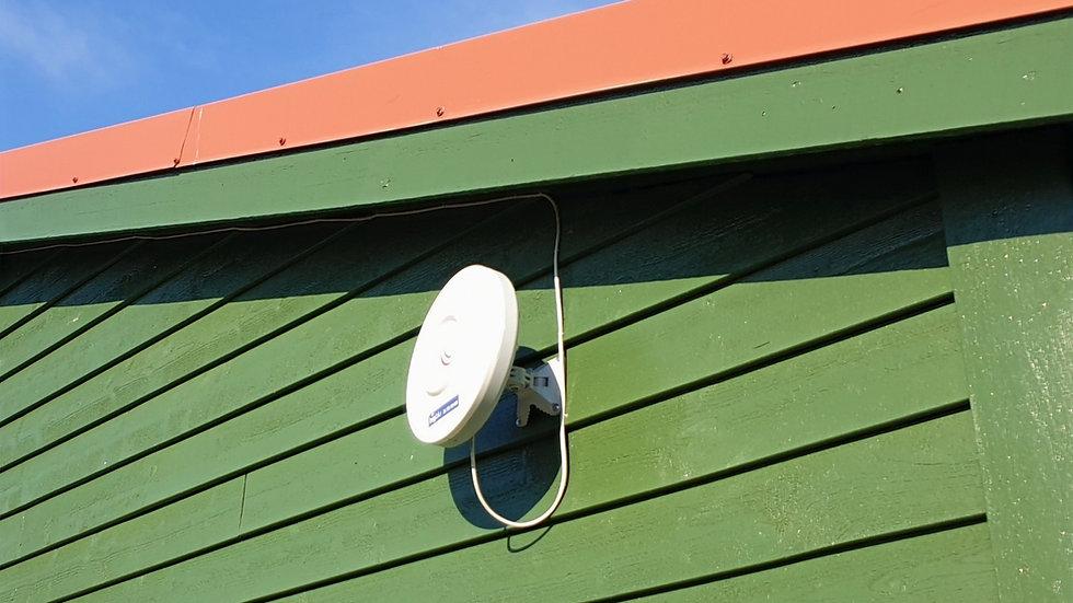 MONTERING av bigblu antenne i Vaksdal Kommune