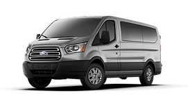Anthony's Limousine Service Ford Transit Shuttle Van for Group Transportation from D.I.A., Denver, and all of Colorado