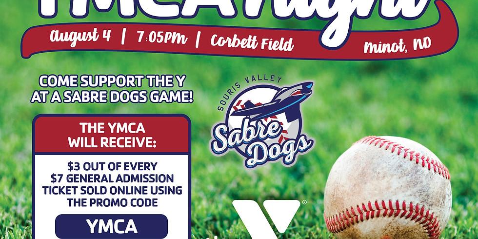 YMCA Night at Sabre Dogs Game