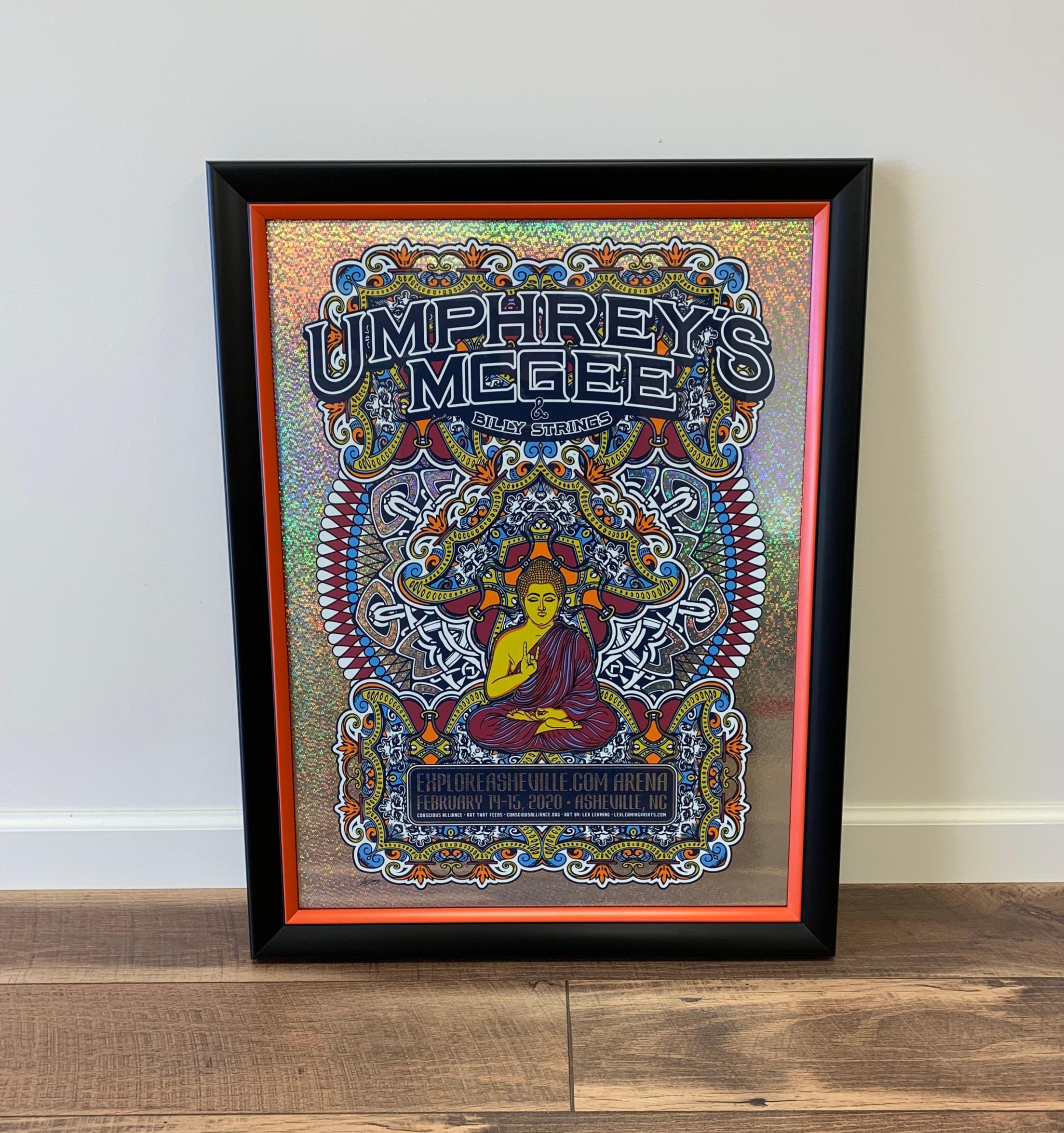 Umphrey's McGee concert poster