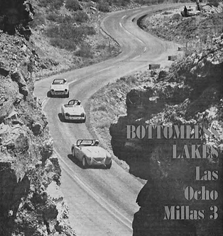 SCCA Las Ocho Millas Road Racing Champion circuit Roswell Ne Mexico 1967 Bottomless Lakes State Park