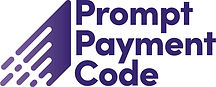 Logo for the prompt payment code