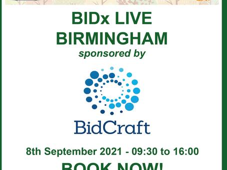 We're sponsoring APMP's BIDx Live!