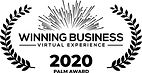 Winner of APMP's Palm Award for best presentation at the Winning Business Virtual Conference in 2020.