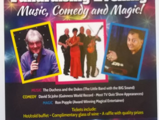 Fundraising Evening Music, Comedy and Magic!