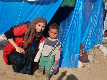 Kiran supports Syrian refugees