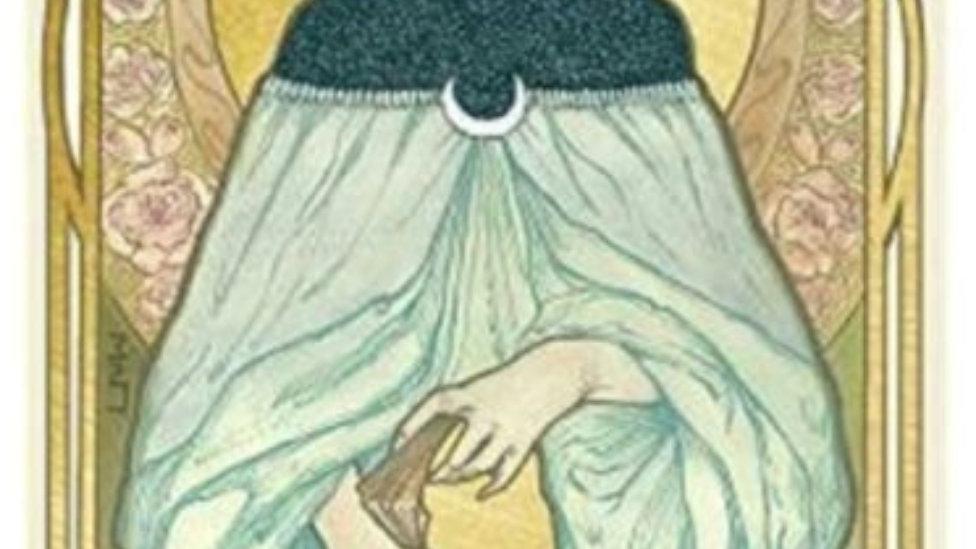 Ethereal Visions: Illuminated Tarot Deck Front Cover Matt Hughes