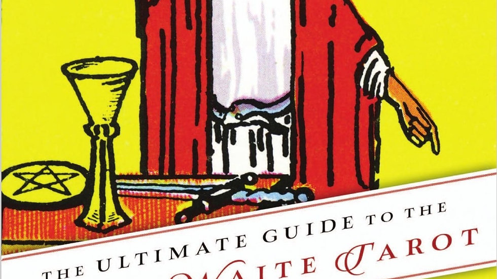 The Ultimate Guide to the Rider Waite Tarot Book by Johannes Fiebig