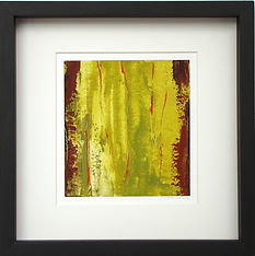 abstract-art- painting-acrylic-red green- artist Mark S Thomas