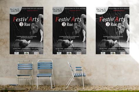 Affiche Festiv'Arts2rue