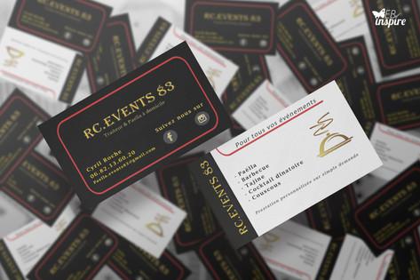 Cartes de Visite RC events