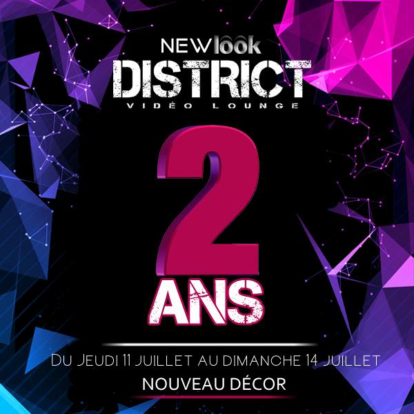 District Video Lounge 2ième Anniversaire