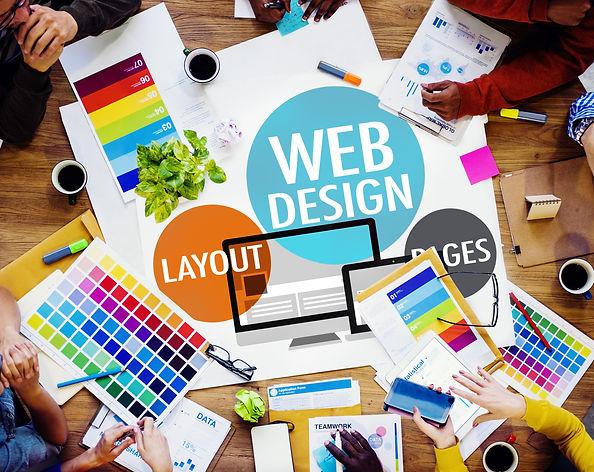 Web Design Content Creative Website Resp