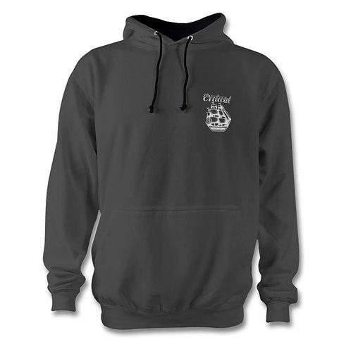 Charcoal Small Logo Hoodie