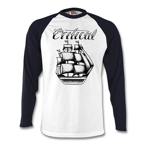 Navy Blue/White Long Sleeve