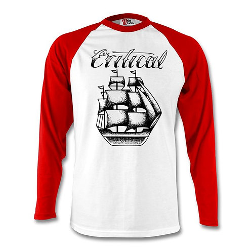 Red/Wht Long Sleeve