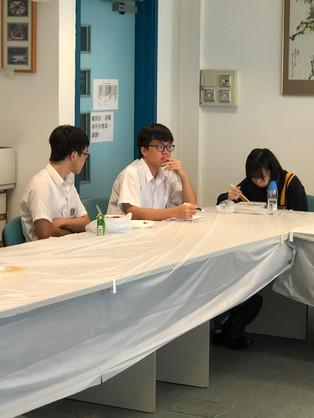 中五及中六級同學參與校長飯局
