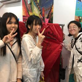 台灣升學文化考察團-到台北文化交流,當然要嘗一嘗放天燈