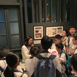 參觀香港文化博物館-同學們,有沒有想過武術高強的李小龍,原來「舞藝」同樣超群