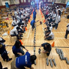 STEM工作坊(火箭車比賽)-開始比賽