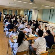 開心Tea一Tea活動_朋輩輔導員與中一同學首次見面