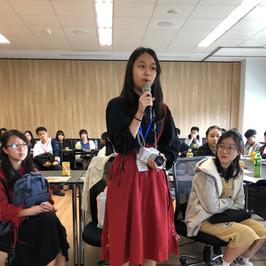 台灣升學文化考察團-為著前途,勇敢地發問吧!