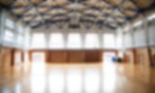 Leere Turnhalle