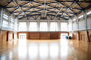 Empty Gym Hall