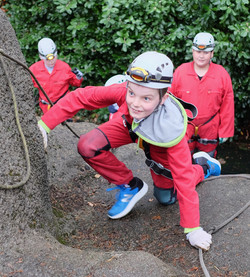 Cave Abseiling