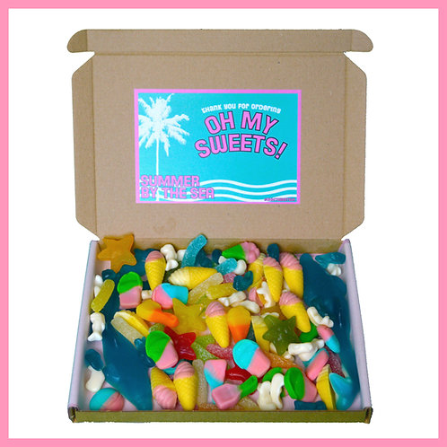'Oh My Sweets' Box - Summer by the Sea