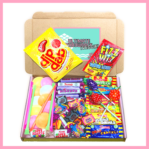 'Oh My Sweets' Box - Ultimate Throwback Veggie